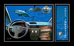 Full Immersion (Dieghito61) Tags: sea smile car work book shark study fantasy sharks crazyworld fullimmersion dieghito61