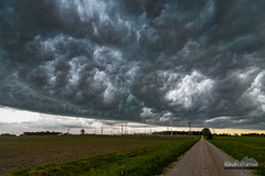 Mouth of the Whale (kevin-palmer) Tags: sky storm green field rain weather clouds evening illinois spring wind may windy stormy farmland thunderstorm boundary outflow pekin 2016 turbulant kevinpalmer tokina1628mmf28 nikond750