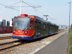 122 at sheffield (47604) Tags: sheffield tram stagecoach 122