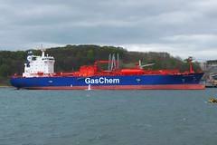 Gaschem Bremen (Gerry Hill) Tags: river scotland terminal estuary gas forth bremen tanker imo braefoot gaschem 9471032