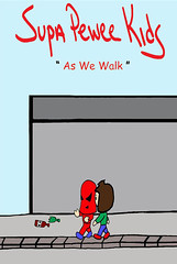 As We Walk - Supa Pewee Kids - Comic Book Pages Mason Valentine & B-Pop SPWK American Cartoon Kids Story Art Illustration Performance Remix Written Conect Battle Ship Jeep Tank Tattoo Art Black Purple Red Green Rain Lake Yellow Orange Spectrum Brown Color (tedlawrey1) Tags: world auto camera new york nyc pink school boy red usa pet chicago bus classic feet hat metal kids writing paper evening waterfall costume rocks pretty gun comic dino boots cosplay cartoon bad tshirt australia gloves fantasy stuff convention superhero lil cape skater boeing cosplayer skateboards fandom weapons 6d manhua bpop