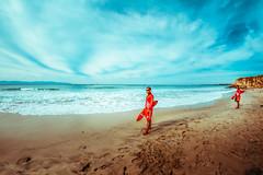 Lifeguards (Luis Montemayor) Tags: ocean sky man men beach clouds playa lifeguard cielo nubes hombre oceano hombres lifeguards