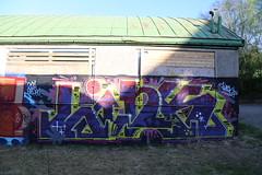 Summer in Pispala (Thomas_Chrome) Tags: street streetart art suomi finland graffiti europe gallery fame can spray nordic walls tampere legal hof pispala