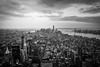 NY18F3 (gfanchui) Tags: cityscape dusk manhattan eastriver hudsonriver flatiron brookylnbridge oneworldtradecenter