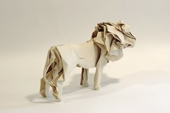 Lion (Friedman Origami) Tags: art watercolor paper origami lion arches mane excapture