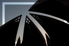 The Pakistan Monument (QueeN CooL) Tags: pakistan sunset moon art star murals center crescent punjab nwfp sindh fata islamabad fourprovinces azadkashmir balochistan nationalheritagemuseum federallyadministeredtribalareas gilgitbaltistan khyberpakhtunkhwa shakarparianhills thepakistanmonument