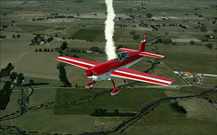 my favorite manuever (davibr) Tags: fly day air extra fs2004 fsx fs9 extra300 manuever