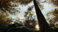 VOEC - 007 (Screenshotgraphy) Tags: bridge sunset mountain lake game nature water colors contrast forest landscape soleil screenshot gare lumire lac ethan steam gaming beaut carter concept paysage vanishing campagne foret beautifull jeu naturelle urbain