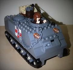 Medical APC (Jeditank38) Tags: war lego iraq vietnam american apc medic moc