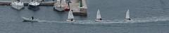 Towed sailing boats (Darkhorse Winterwolf) Tags: cruise carnival sea italy water boats boat italia harbour vista trieste sailingboat maidenvoyage carnivalvista