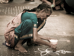 Untitled (melissaenderle) Tags: kolam mylapore festival india