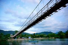 Baler, Aurora, Quezon, Philippines (ohjenette) Tags: bridge fun phil philippines more hanging dizzy ph backpacker quezon baler sulit