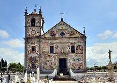 Parquia de Santa Maria de Vlega, Portugal (Alona Azaria) Tags: portugal church facade nikon cemetary tiles azulejos d800 ovar valega 1635mmf4 santamariadevalega