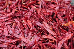 Red Hot Chilli Peppers (Saumil U. Shah) Tags: street travel red food india hot color colour tourism colors pepper chili colours market spice culture agra tourist burn getty peppers spicy chilli oldtown masala gettyimages crowded shah mirchi mirch uttarpradesh  saumil incredibleindia mirchmasala saumilshah