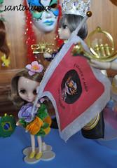 A Porta Bandeira Josephine!!!