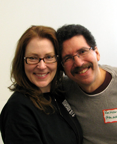 Christine Pilch and Ron Miller