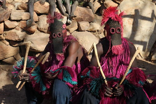 Masks in Dogon Country