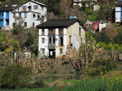 Village farm house in India's northern state of Uttarakhand (International Livestock Research Institute) Tags: india villagescene northernindia ilri susanspictures uttarakhand