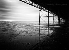 > IXIXIIIIIii (Dark Structure) (ROB KNIGHT photography) Tags: monochrome mono pier blackwhite monochromatic pinhole southport beech southportpier northwestengland robknight filmeffect lancashirecoast niksoft canoneos5dmkii axeman3uk silverefexpro2 canon24105mmeflseries wwwrkphotographiccom robrkphotographiccom