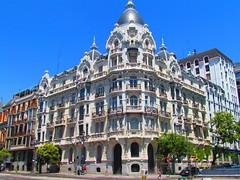 Casa Gallardo, Madrid (twiga_swala) Tags: madrid plaza espaa casa spain artnouveau rey espagne modernismo federico ferraz spanien gallardo arias