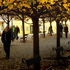 Walkers (G. For._I'll be back ;)) Tags: prague praga walkers jesień miasto drzewa klony prahamalastrana specerowicze jesieńwmieście autumninacity