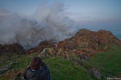 Temporal en la costa de Orea 2 (@lber Olano Andres) Tags: costa verde azul canon mar agua ii 200 nubes 7d 100 70 f28 temporal rocas 1022 horizonte manfrotto rc1 lowepro x2 cantabrico fuerza marrn 2470 322rc2 055xpro