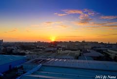 Sunset (娜 娜☂Nana) Tags: life light sky love beautiful clouds buildings nikon colorful natural taiwan 台灣 台灣taiwan i 我愛台灣 d7000 sunsettaiwancity