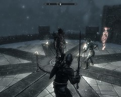 2012-03-06_00010 - Unbound Dremora (tend2it) Tags: game beautiful fire pc screenshot frost dragon view shot character xbox battle v rpg elder breathing scrolls ps3 skyrim tesv