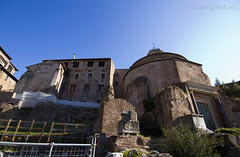 """Tempio del Divo Romolo • <a style=""""font-size:0.8em;"""" href=""""http://www.flickr.com/photos/89679026@N00/6834147434/"""" target=""""_blank"""">View on Flickr</a>"""