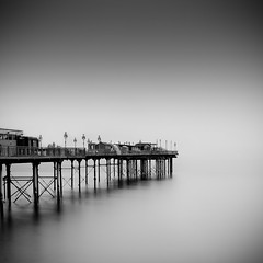 Victorian Pier (paulwynn-mackenzie.co.uk) Tags: longexposure sea england blackandwhite bw seascape southwest water photoshop pier seaside britain sony victorian scenic a33 le nd processing pro alpha dslr filters grad amateur hitech slt lightroom ndfilter cs5 gradnd 10stop bigstopper slta33 hitechpro10stopper