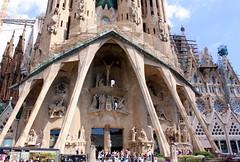 20.09.2011: Die Sagrada Família von Antoni Gaudí