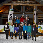 Friday GS Race Podiums at the 2012 Teck K2 Provincials                        PHOTO CREDIT: Keven Dubinsky