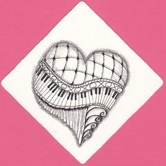 valentine 4 (val71655) Tags: heart piano valentine zia zentangle