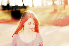 (Mary Jo.) Tags: light red portrait girl yellow photoshop canon rebel 50mm action mj kristen manual xs f18 leaks