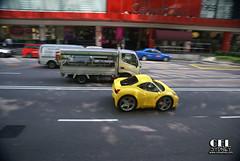 Mini 458 Italia (celsydney) Tags: auto cars yellow photoshop hilarious automobile singapore funny small sydney australia cel mini automotive ferrari exotic tiny micro supercar spotting facebook 458 celsydney minisupercars autospotting ferrari458italia