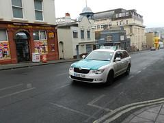 Brighton & Hove Taxi - Skoda Superb Estate - GY10 TUA (oliblob) Tags: brighton estate superb hove taxi skoda 2010 nikonp500 oliblob gy10tua