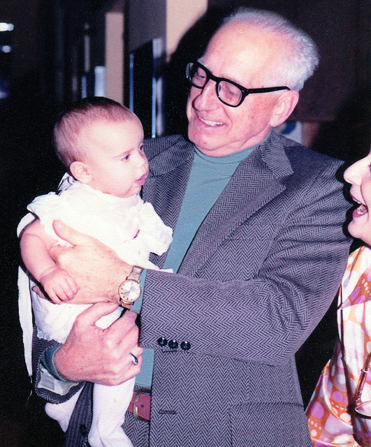 197912 - Britt (5mos old), Jim, Ronnie