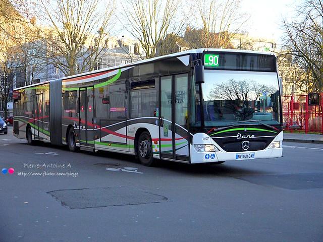Mercedes O530 Citaro G II TRANSPOLE (Keolis Trans Val de Lys) n°114017