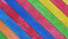 Lollipop sticks (Steven H Scott) Tags: up sticks pattern colours close lollipop stevenscott