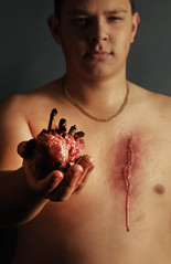Organ Donation (Photography-MS) Tags: hearts death sadness blood glory bare smoking help gross selfish horrible dying issues awful scars abuse organs guts concern organdonation maysimpson issuesofconcern