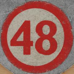 Bingo Number 48 (Leo Reynolds) Tags: canon eos iso100 number squaredcircle lotto 60mm f80 bingo 48 loto housie housey 0125sec 40d hpexif numberset numberbingo houseyhousey xsquarex housiehousie xleol30x sqset071 bingoset22