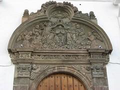 Quito: Iglesia de Santa Clara (zug55) Tags: door church quito ecuador puerta iglesia unescoworldheritagesite unesco worldheritagesite monastery convento portal baroque convent monasterio templo barocco patrimoniodelahumanidad conventodesantaclara monasteriodesantaclara iglesiadesantaclara