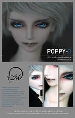 New Artist's face-up 'Demetri Poppy-3' (littlemonica) Tags: harmony demetri