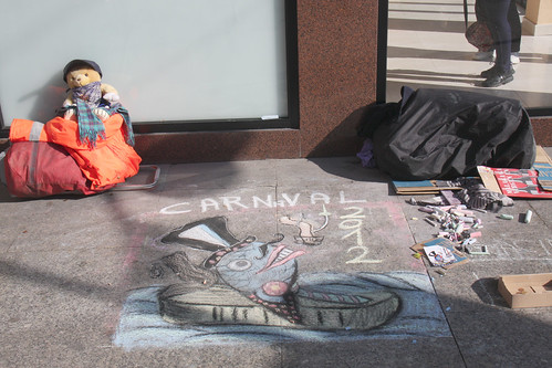Chalk Art - Carnival Santoña