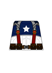 Captain-America (Dirks_Designs) Tags: film modern america comic lego captain legos decal minifig decals minifigure avenger