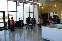 Students in the Reception Area (Junior Achievement of Greater Washington) Tags: va 2012 financepark receptionarea juniorachievementfinancepark