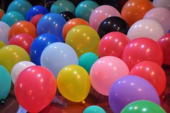 Room Full of Balloons -:- 237 (buddhadog) Tags: balloons colorful 500 multicolors 500vu