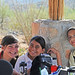 Having fun at the Saguaro National Park BioBlitz, 2011