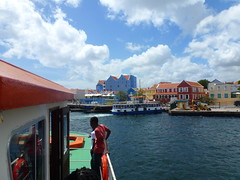 P1050017 (Stefan Peerboom) Tags: anna saint ferry bay sint willemstad otrabanda annabaai