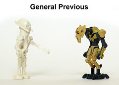 General Previous (Oky - Space Ranger) Tags: new old star funny lego general wars clone minifigure previous grievous
